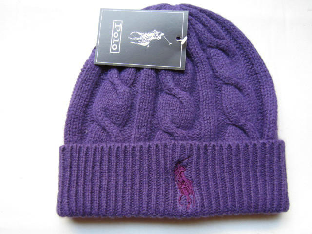 Polo Purple Beanie 2 LX